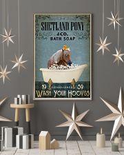 Vintage Bath Soap Shetland pony 11x17 Poster lifestyle-holiday-poster-1