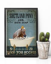 Vintage Bath Soap Shetland pony 11x17 Poster lifestyle-poster-8