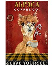 Coffee Company Alpaca 11x17 Poster front