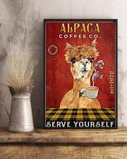 Coffee Company Alpaca 11x17 Poster lifestyle-poster-3