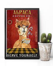 Coffee Company Alpaca 11x17 Poster lifestyle-poster-8