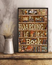 Not Hoarding If Books 11x17 Poster lifestyle-poster-3