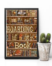 Not Hoarding If Books 11x17 Poster lifestyle-poster-8