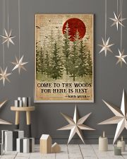Sleep In The Woods Dictionary Camping 16x24 Poster lifestyle-holiday-poster-1