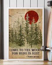 Sleep In The Woods Dictionary Camping 16x24 Poster lifestyle-poster-4