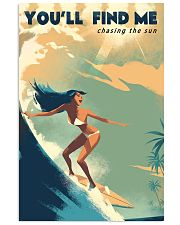 The Bikini Girl You Will Find Me Surfing 11x17 Poster front