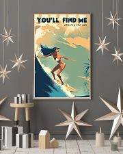 The Bikini Girl You Will Find Me Surfing 11x17 Poster lifestyle-holiday-poster-1