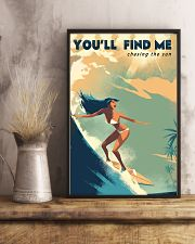 The Bikini Girl You Will Find Me Surfing 11x17 Poster lifestyle-poster-3