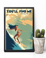 The Bikini Girl You Will Find Me Surfing 11x17 Poster lifestyle-poster-8