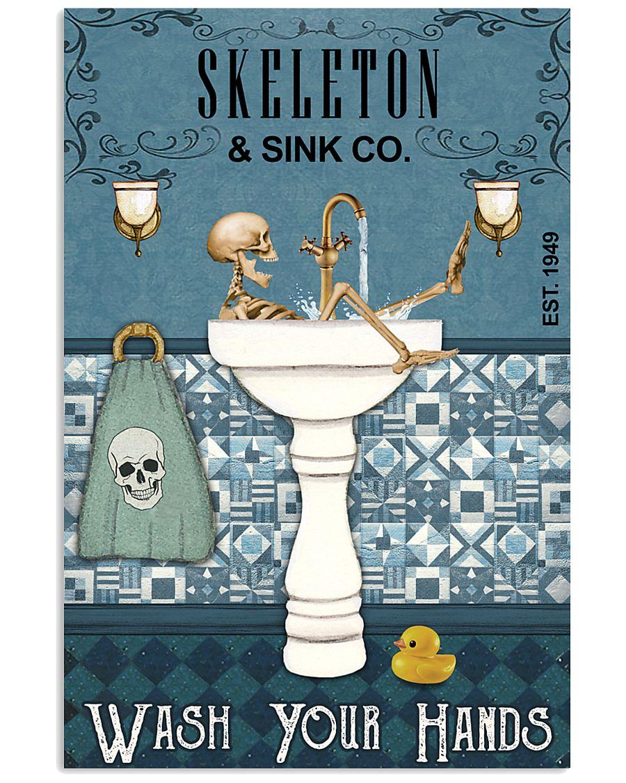 Sink Company Skeleton 11x17 Poster