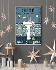 Sink Company Skeleton 11x17 Poster lifestyle-holiday-poster-1