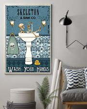 Sink Company Skeleton 11x17 Poster lifestyle-poster-1