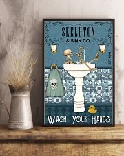 Sink Company Skeleton 11x17 Poster lifestyle-poster-3