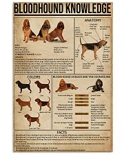 Bloodhound Knowledge  11x17 Poster front