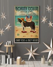 Beach Life Sandy Toes Border Collie 11x17 Poster lifestyle-holiday-poster-1