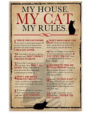 My House My Cat Skeleton 11x17 Poster front