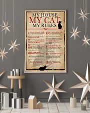 My House My Cat Skeleton 11x17 Poster lifestyle-holiday-poster-1