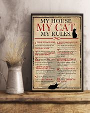 My House My Cat Skeleton 11x17 Poster lifestyle-poster-3
