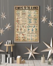 8 WaysTo Tie a Knot Rock Climbing 16x24 Poster lifestyle-holiday-poster-1