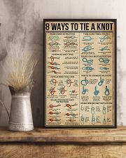 8 WaysTo Tie a Knot Rock Climbing 16x24 Poster lifestyle-poster-3