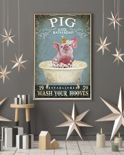 Vintage Bath Soap Pig 11x17 Poster lifestyle-holiday-poster-1
