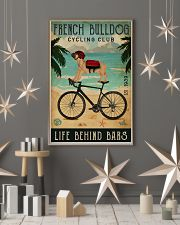Cycling Club French Bulldog 11x17 Poster lifestyle-holiday-poster-1