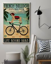 Cycling Club French Bulldog 11x17 Poster lifestyle-poster-1