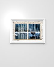 Window And Into The Forest Moose 24x16 Poster poster-landscape-24x16-lifestyle-02