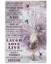Ballet Dancer Today Is A Good Day 11x17 Poster front