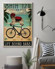 Cycling Club Shih Tzu 11x17 Poster lifestyle-poster-1