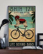 Cycling Club Shih Tzu 11x17 Poster lifestyle-poster-2