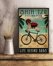 Cycling Club Shih Tzu 11x17 Poster lifestyle-poster-3