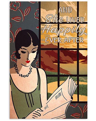 Vintage Lady Reading Retro 1940