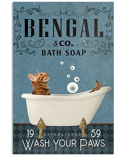 Bath Soap Company Bengal Cat