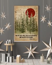 Sleep In The Woods Bible Camping 16x24 Poster lifestyle-holiday-poster-1