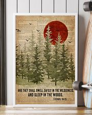 Sleep In The Woods Bible Camping 16x24 Poster lifestyle-poster-4