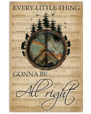 Music Sheet Every Little Thing Forest Hippie 11x17 Poster front
