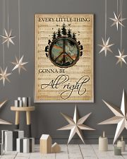 Music Sheet Every Little Thing Forest Hippie 11x17 Poster lifestyle-holiday-poster-1
