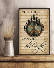 Music Sheet Every Little Thing Forest Hippie 11x17 Poster lifestyle-poster-3