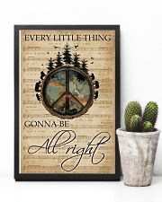 Music Sheet Every Little Thing Forest Hippie 11x17 Poster lifestyle-poster-8