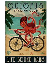 Cycling Club Octopus 11x17 Poster front