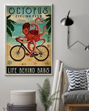 Cycling Club Octopus 11x17 Poster lifestyle-poster-1