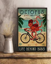 Cycling Club Octopus 11x17 Poster lifestyle-poster-3