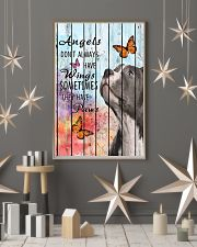 Pallet Angels Sometimes Have Paws Pit Bull 11x17 Poster lifestyle-holiday-poster-1
