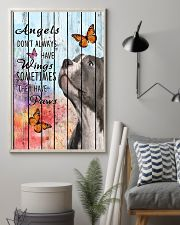Pallet Angels Sometimes Have Paws Pit Bull 11x17 Poster lifestyle-poster-1