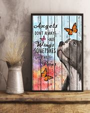 Pallet Angels Sometimes Have Paws Pit Bull 11x17 Poster lifestyle-poster-3
