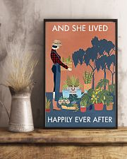 Vintage And She Lived Happily Gardening 16x24 Poster lifestyle-poster-3