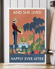 Vintage And She Lived Happily Gardening 16x24 Poster lifestyle-poster-4
