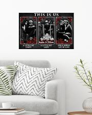 Personalized Motorcycling Skeleton This Is Us 24x16 Poster poster-landscape-24x16-lifestyle-01