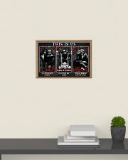 Personalized Motorcycling Skeleton This Is Us 24x16 Poster poster-landscape-24x16-lifestyle-09